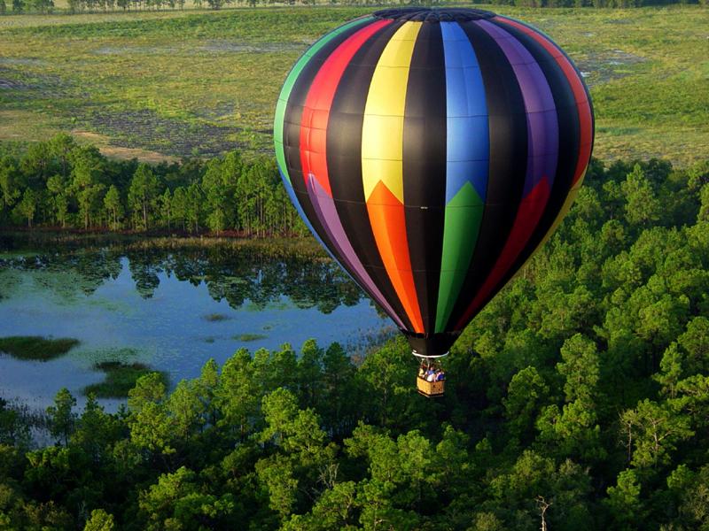Выиграй поездку на воздушном шаре